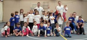 Tim sportske skolice za decu